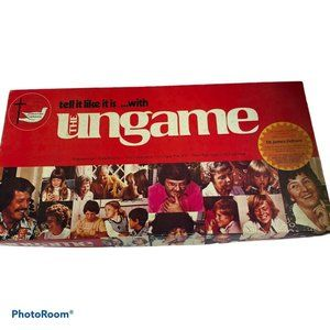 The Ungame Vintage Board Game 1975 Complete Family